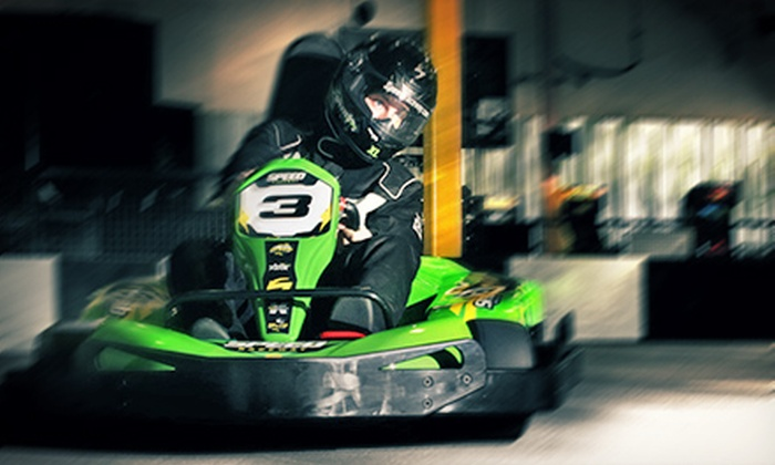 Speed Raceway - Parker: 12-Lap Go-Kart Races for One, Two, or Four at Speed Raceway (Up to 63% Off)