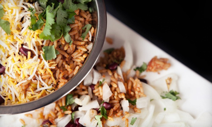 Manhattan Grill - Sunrise Golf Village East: $5 Worth of Mexican Bowls and Salads