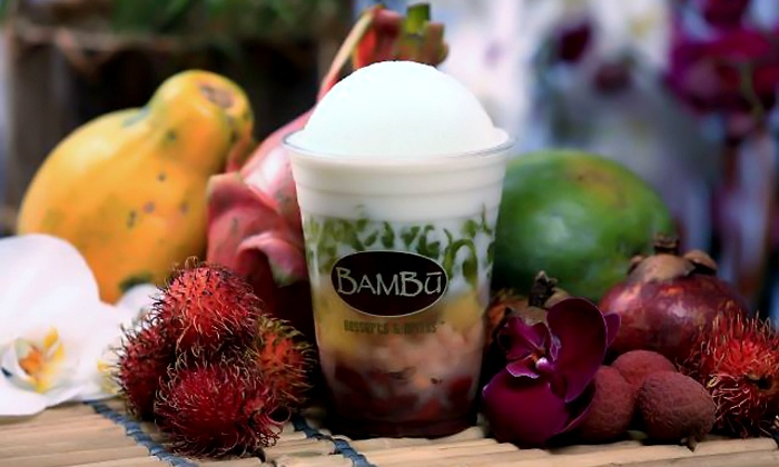 BAMBU Desserts and Drinks - Rocklin: $20 for Four Groupons, Each Good for $5 Worth of Treats at BAMBU Desserts and Drinks ($20 Value)