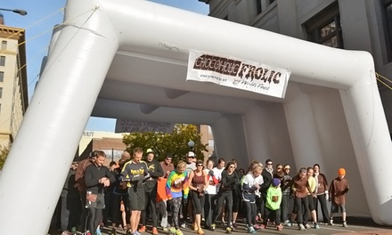 Admission for One, Two, or Four to Chocoholic Frolic 5k or 10k on November 23 from Final Stretch (Up to 52% Off)