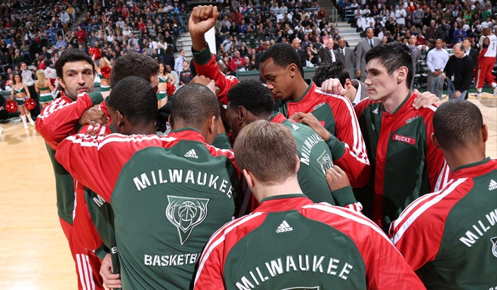 Milwaukee Bucks - BMO Harris Bradley Center: Milwaukee Bucks Game and Milwaukee Originals T-Shirt (Up to 60% Off). Four Games Available.