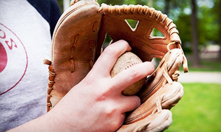 One-Week Baseball Camp with Option for Multi-Sports Camp at The Performance Academy (Up to 66% Off)