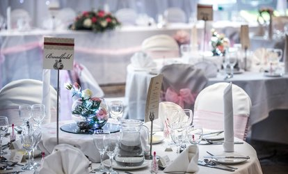 Wedding Package for 50 Day and 100 Evening Guests at Mercure Bristol North The Grange Hotel (45% Off)
