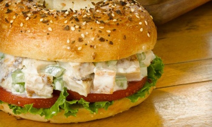 Manhattan Bagel - Multiple Locations: Sandwiches and Bagels at Manhattan Bagel (Up to 51% Off)