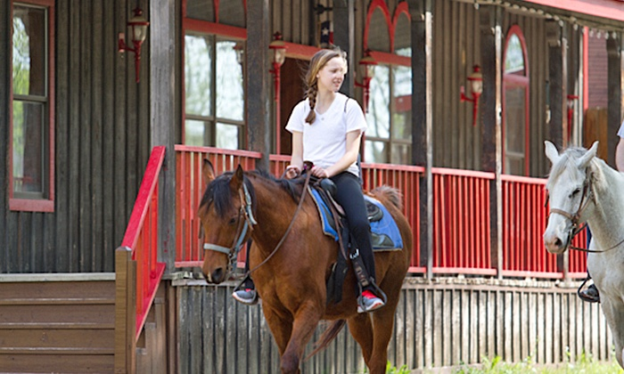 Storybook Ranch - McKinney: Horseback Trail Ride or Pony Party for Up to 15 Kids at Storybook Ranch (Up to 46% Off)