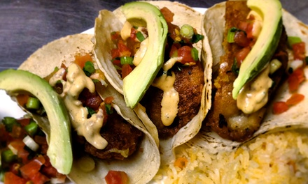 Mexican Food at Three Amigos (Up to 48% Off). Two Options Available.