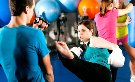 Four or Eight Weeks of Boot Camp at RoundKick Gym (51% Off)