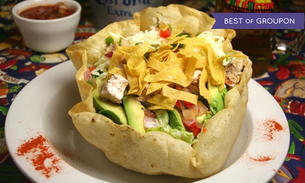 Mexican Food for Dinner at The Fat Cactus (44% Off). Three Options Available.