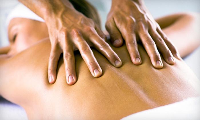 Nova Bella Salon and Spa - The Congaree Vista: Massage, Mani-Pedi, or Spa Package with Massage, Mani-Pedi, and Facial at Nova Bella Salon and Spa (Up to 54% Off)