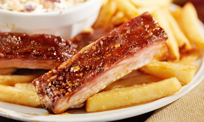 Blue Bayou BBQ - Clark: $12 for $20 Worth of Barbecue for Two for Dine-In or Carry-Out at Blue Bayou BBQ