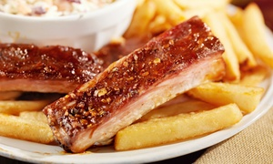 Blue Bayou BBQ: $12 for $20 Worth of Barbecue for Two for Dine-In or Carry-Out at Blue Bayou BBQ