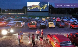 The Family Drive-In Theatre: Drive-In Double Feature with Snacks for Two Adults or a Family of Four at The Family Drive-In (Up to 44% Off)