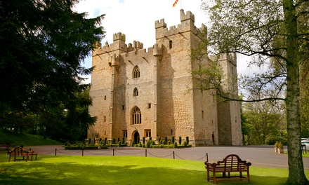 Northumberland: 1 or 2 Nights for Two with Breakfast and Option for Tea, Dinner and Castle Tour at 4* Langley Castle