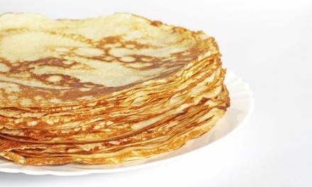 Onbeperkt poffertjes of pannenkoeken eten voor 2, 3 of 4 personen bij Restaurant Popsuiker
