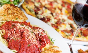 Manhattan Chicago Pizza Kendall: Pizza and Italian Food for Two, Valid for Dine-In or Carryout at Manhattan Chicago Pizza Kendall (Up to 45% Off)
