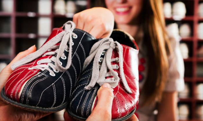Elk Grove Bowl - Elk Grove Village: $10 for Two Games of Bowling with Shoe Rental for Two at Elk Grove Bowl (Up to $23 Value)