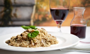 IL Vaporetto Italian Restaurant: Italian Dinner for Two or Four or Lunch for Two at IL Vaporetto Italian Restaurant (Up to 40% Off)