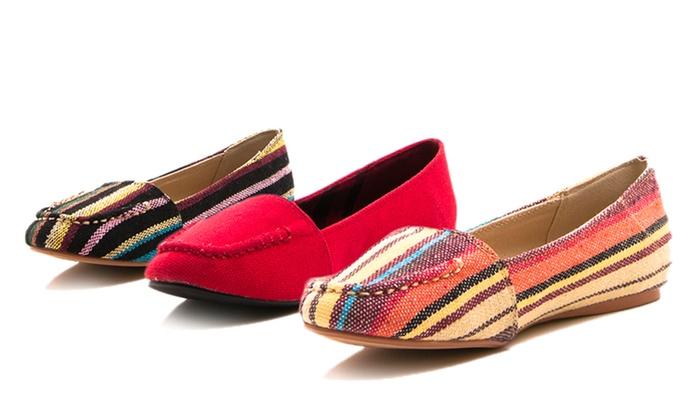 GoMax Women's Twitter Loafer Flats: GoMax Women's Twitter Loafer Flats. Multiple Colors Available. Free Returns.