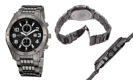 August Steiner Multi-Function Mens Watch