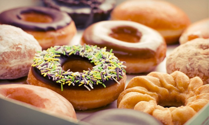 Horsham Donuts - Horsham: One- or Two-Dozen Regular Donuts or Punch Card for Five Breakfast Sandwiches at Horsham Donuts (Up to 53% Off)