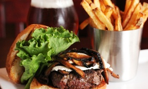 BrewRiver Gastro Pub: $100 for Two $50 Gift Cards and One $30 Gift Card for Food and Drinks at BrewRiver Gastro Pub ($130 Value)