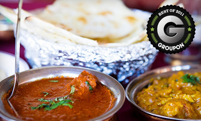 The New Nupur - Glebe - Dows Lake: Weekday Indian Lunch Buffet for Two or $15 for $30 Worth of Dinner at The New Nupur