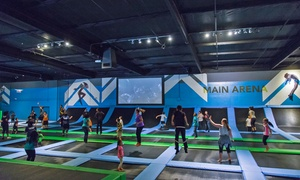 Hangar Trampoline Park: Two 60-Minute Jump Passes Weekdays or Weekends at Hangar Trampoline Park (Up to 46% Off)