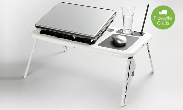 Lekki Składany Stolik Pod Laptopa Groupon