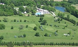 Hillcrest Event Center: Camping and Unlimited Golf for Four at Hillcrest Event Center (75% Off). Four Options Available.
