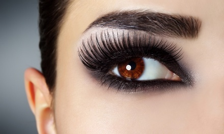 Full Set of Eyelash Extensions, One Fill-In, or Both at Beauty by Victoria Daze (Up to 56% Off)