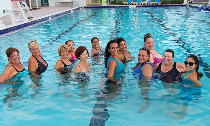Fort Myers Zumba Fitness - Fort Myers: 6 or 12 Aqua Zumba Classes at Fort Myers Zumba Fitness (Half Off)