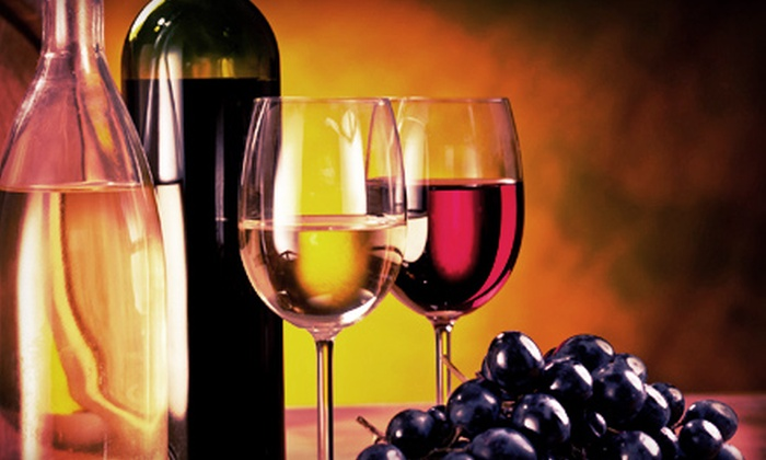 D'Vine Wine - Manitou Springs: $32 for a Wine Tasting with Souvenir Glasses and Custom Bottle Labels for Two at D'Vine Wine (Up to $64 Value)
