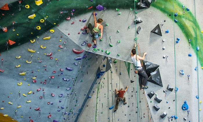 Central Rock Gym - Glastonbury: $39 for 1 Month of Unlimited Rock Climbing plus Gear and an Intro Class at Central Rock Gym ($79 Value)
