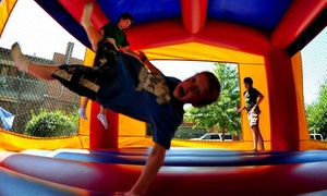 Happy Bouncers Party Rentals: Six-Hour Bounce-House Rental from Happy Bouncers Party Rentals (15% Off)