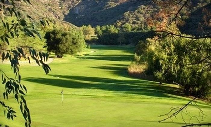 Malibu Golf Club - Agoura Hills-Malibu: Nine-Hole Playing Lesson for One or Two with PGA Instructor Gene Hori at Malibu Golf Club (Up to 60% Off)