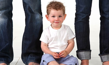 C$30 for a 60-Minute In-Studio Portrait Session for Up to Six at Kerry Allan Photography (C$324 Value)