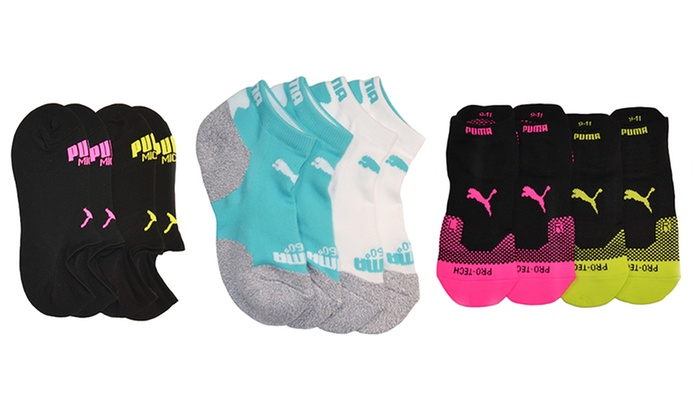 Puma Women s Microfiber Socks 931ab72af