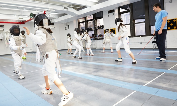 Manhattan Fencing Center - Garment District: Full Fencing Camp at Manhattan Fencing Center (50% Off). Two Options Available.