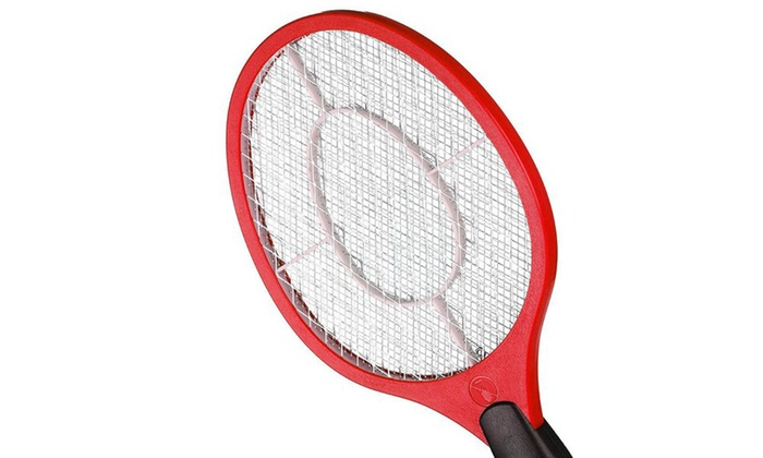Up To 55 Off On Electric Bug Swatter 2 Pack Groupon Goods