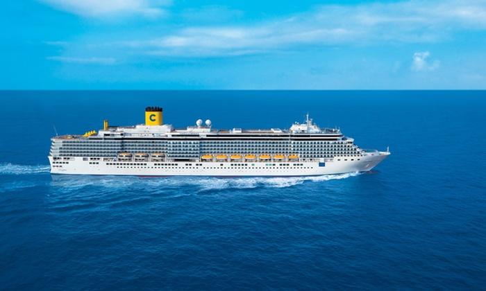 10-Night Caribbean Cruise from Costa Cruises - Key West, Freeport, Nassau, and Grand Turk: 10-Night Caribbean Cruise with On-Board Meals from Costa Cruises