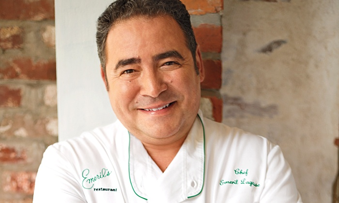 Emeril Lagasse Foundation: Epic Sweepstakes to Meet Emeril Lagasse: Support Emeril Lagasse Foundation and Enter to Win a New Orleans Trip for Two