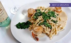 Nico Ristorante: Authentic Italian Cuisine and Drinks at Nico Ristorante (Up to 42% Off). Two Options Available.