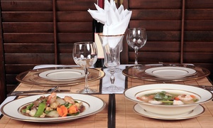 Wilton Willow Chinese: Two Main Courses and Two Glasses of Wine for €29 at Wilton Willow Chinese (Up to 33% Off)