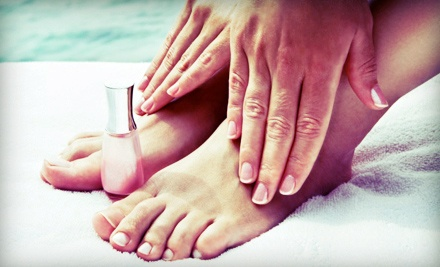 One or Three Hot-Oil Manicures with Spa Deluxe Pedicures at Tina Starr Nails (Up to 59% Off)