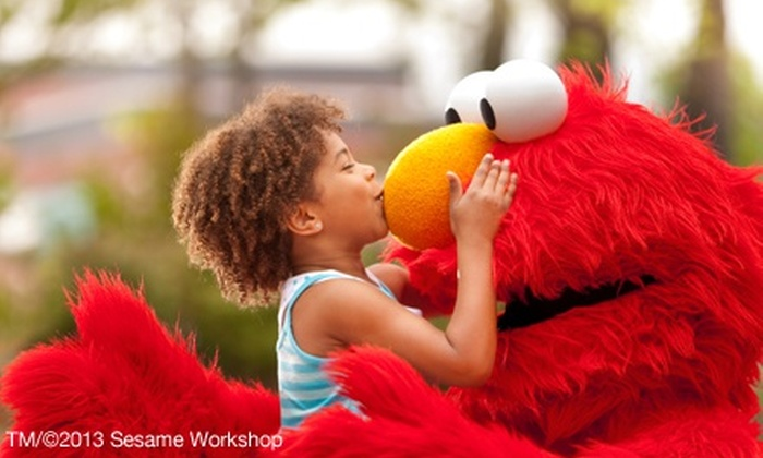 Sesame Place: Visit for Two, Three, Four, or Five at Sesame Place (Up to 33% Off)