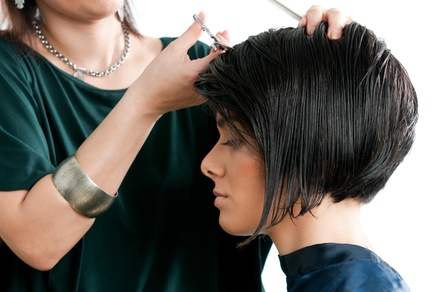 Two Haircuts with Shampoo and Style from The Styling Studio (60% Off)