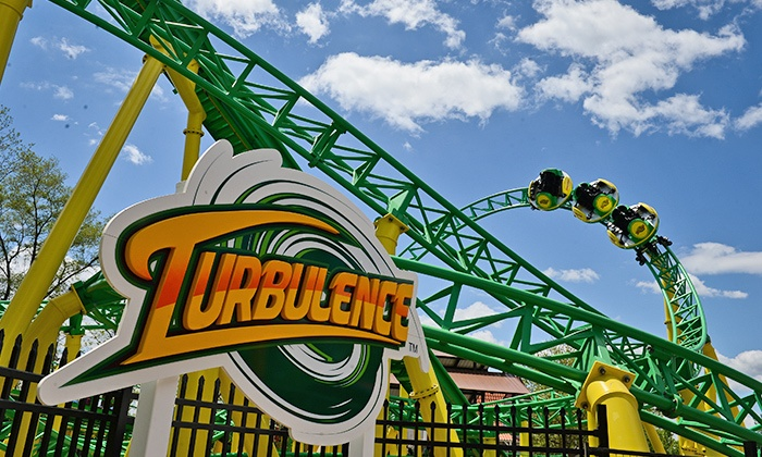 Adventureland - Long Island, NY - East Farmingdale: Unlimited Rides for Two or Four at Adventureland Amusement Park (31% Off)