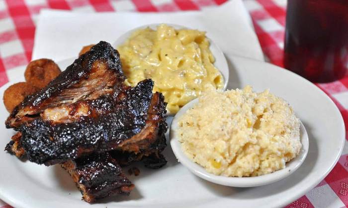 Squeal Bar-B-Q - Leonidas: Barbecue at Squeal Bar-B-Q (Up to Half Off). Two Options Available.