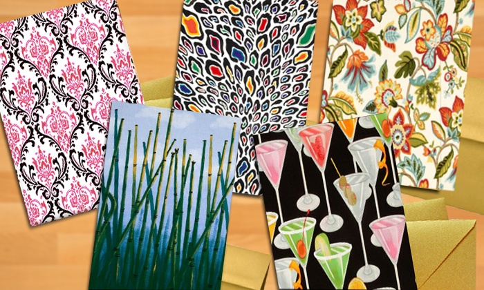 Birthday Card Studios LLC: Customizable Fabric Greeting Cards at Birthday Card Studios LLC (Up to 56% Off). Two Options Available.