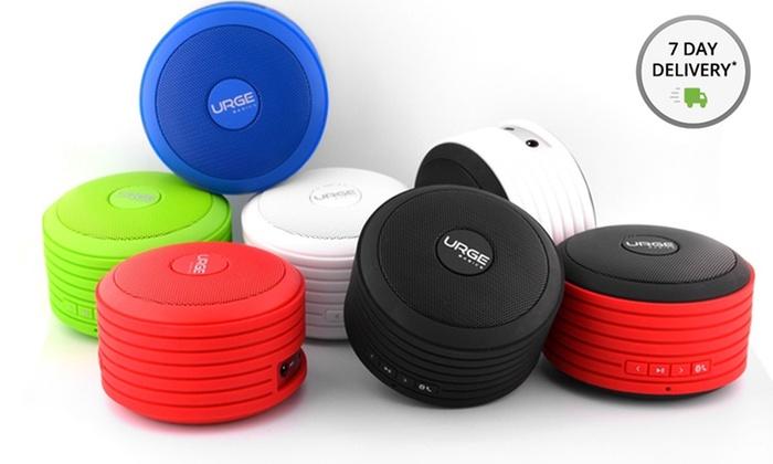 Urge Basics Disc Portable Bluetooth Speaker: Urge Basics Soundisc Bluetooth Speaker with Multimedia Function. Multiple Colors Available. Free Returns.